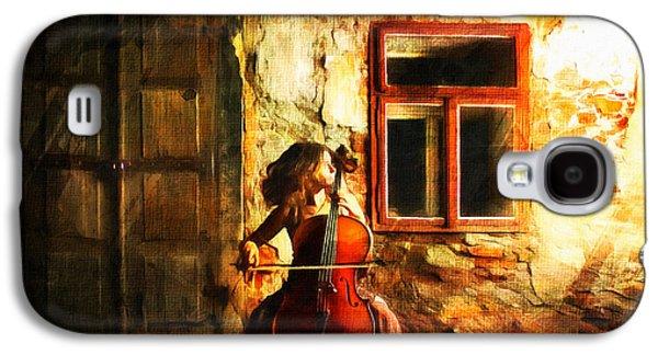 Cellist By Night Galaxy S4 Case