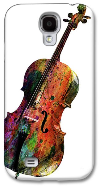 Saxophone Galaxy S4 Case - Cello by Mark Ashkenazi