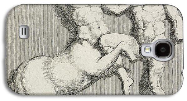 Centaur And Man Galaxy S4 Case by British Library