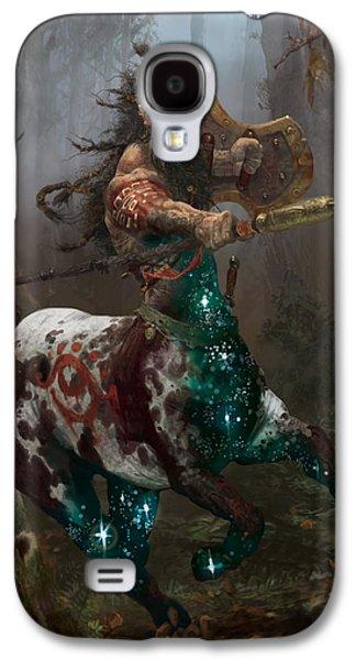 Centaur Token Galaxy S4 Case by Ryan Barger