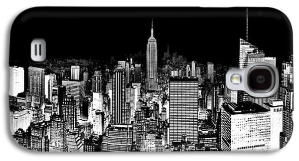 Empire State Building Galaxy S4 Case - Center Of The Universe by Az Jackson