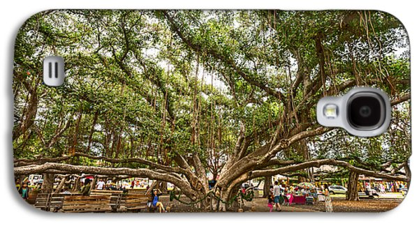 Central Court - Banyan Tree Park In Maui. Galaxy S4 Case