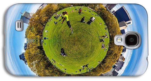 Central Park Circagraph  Galaxy S4 Case by Az Jackson