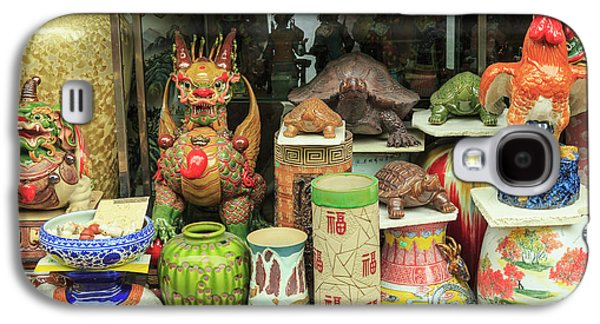 Ceramics At Storefront Near Nanfeng Galaxy S4 Case by Stuart Westmorland