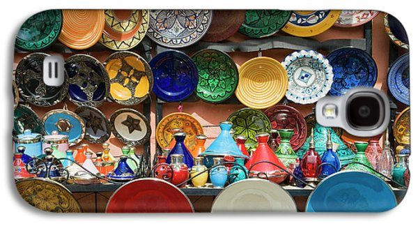 Ceramics For Sale, Souk, Medina Galaxy S4 Case by Nico Tondini