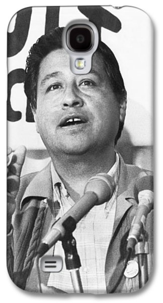 Cesar Chavez Announces Boycott Galaxy S4 Case by Underwood Archives