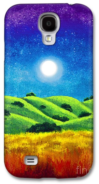 Chakra Landscape Galaxy S4 Case by Laura Iverson
