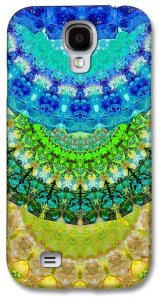 Chakra Mandala Healing Art By Sharon Cummings Galaxy S4 Case