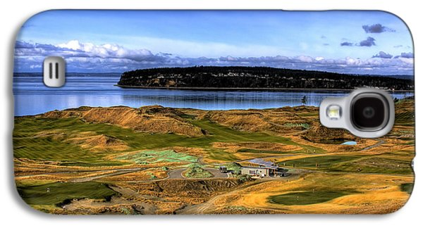 Chambers Bay Golf Course Galaxy S4 Case by David Patterson