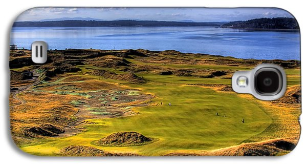 Chambers Bay Golf Course II Galaxy S4 Case by David Patterson