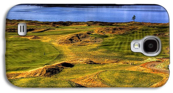 Chambers Bay Lone Tree Galaxy S4 Case by David Patterson