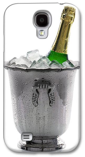 Champagne Bottle On Ice Galaxy S4 Case by Johan Swanepoel
