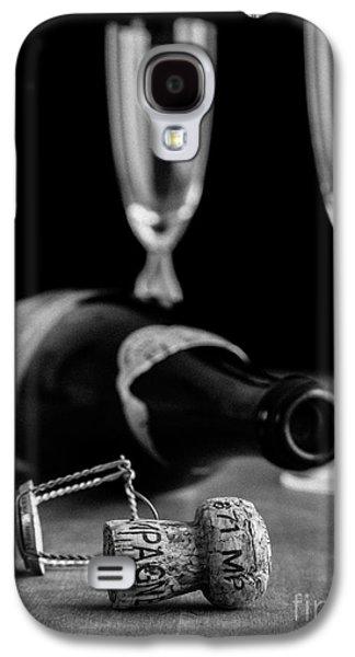 Champagne Bottle Still Life Galaxy S4 Case by Edward Fielding