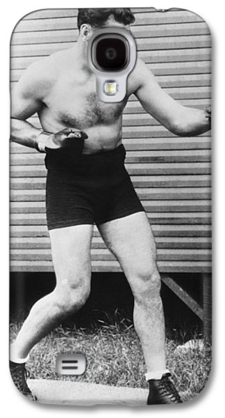 Champion Boxer Jack Dempsey Galaxy S4 Case by Underwood Archives
