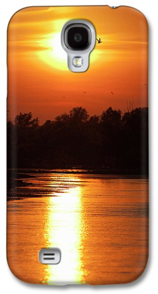 Channels And Lakes During Sunset Galaxy S4 Case