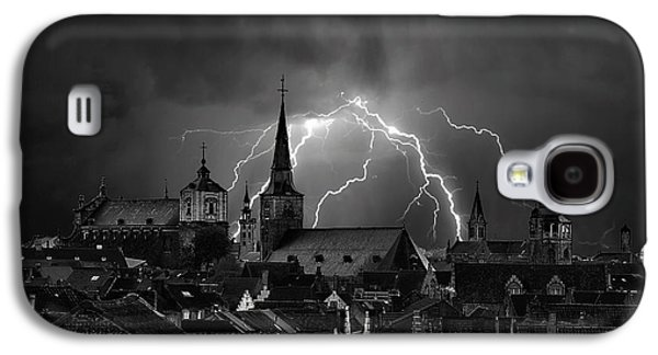 Chaos In The Sky Of Bruges Galaxy S4 Case