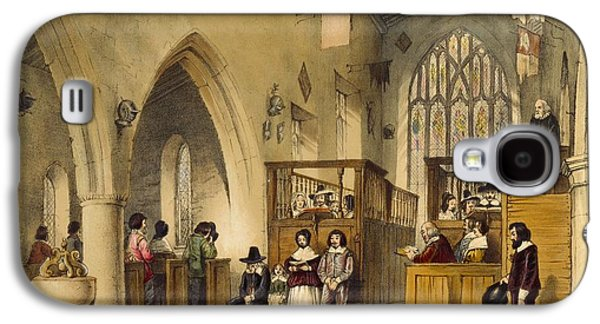 Chapel At Haddon Hall, Derbyshire Galaxy S4 Case by Joseph Nash