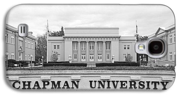 Chapman University Memorial Hall Galaxy S4 Case by University Icons