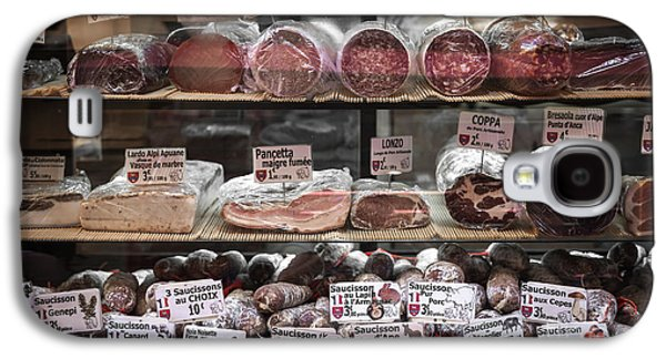 Charcuterie On Display In Butcher Shop In Old Nice Galaxy S4 Case by Elena Elisseeva