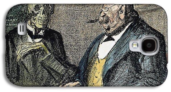 Wwi Cartoon, 1915 Galaxy S4 Case
