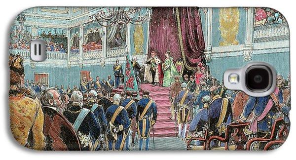 Charles I (lisbon, 1863-vila Vials, 1908 Galaxy S4 Case by Prisma Archivo