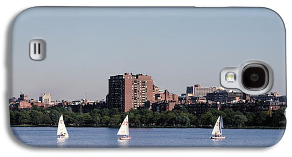 Charles River Skyline Boston Ma Galaxy S4 Case by Panoramic Images