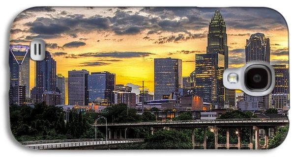 Downtown Galaxy S4 Case - Charlotte Dusk by Chris Austin