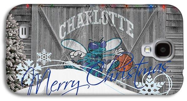 Charlotte Hornets Galaxy S4 Case by Joe Hamilton