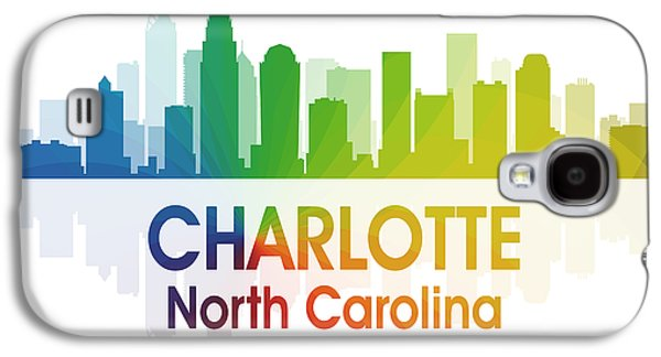 Charlotte Nc 1 Squared Galaxy S4 Case by Angelina Vick
