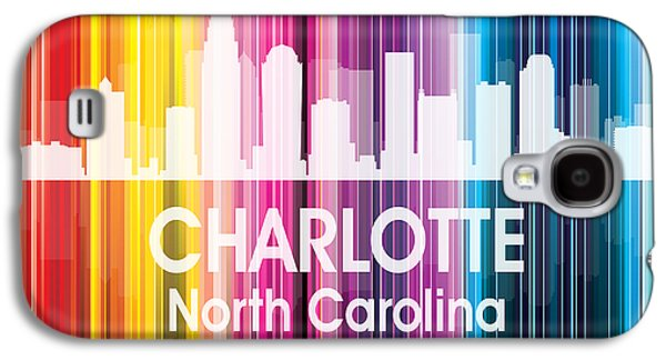Charlotte Nc 2 Squared Galaxy S4 Case by Angelina Vick