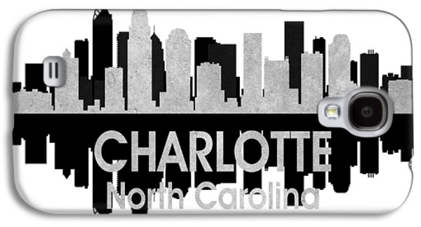 Charlotte Nc 4 Squared Galaxy S4 Case by Angelina Vick