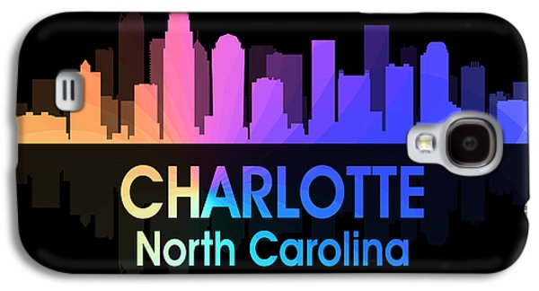 Charlotte Nc 5 Squared Galaxy S4 Case by Angelina Vick