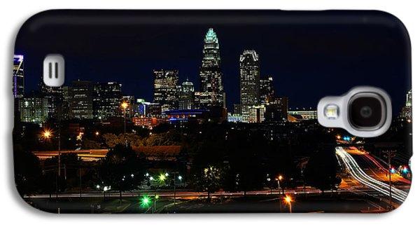 Charlotte Nc At Night Galaxy S4 Case
