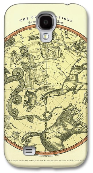 Chart Of The Constellations Galaxy S4 Case