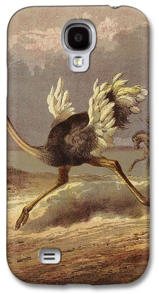 Chasing The Ostrich Galaxy S4 Case by English School