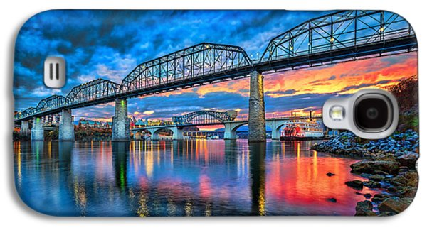 Chattanooga Sunset 3 Galaxy S4 Case