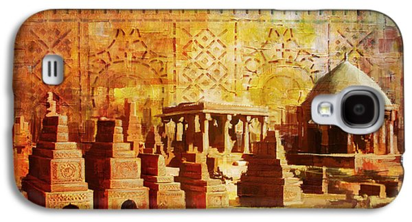 Chaukhandi Tombs Galaxy S4 Case by Catf