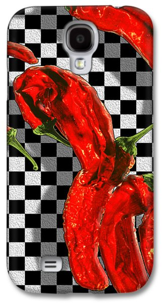 Checker Peppers Galaxy S4 Case