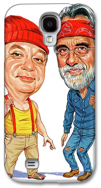 Cheech Marin And Tommy Chong As Cheech And Chong Galaxy S4 Case by Art