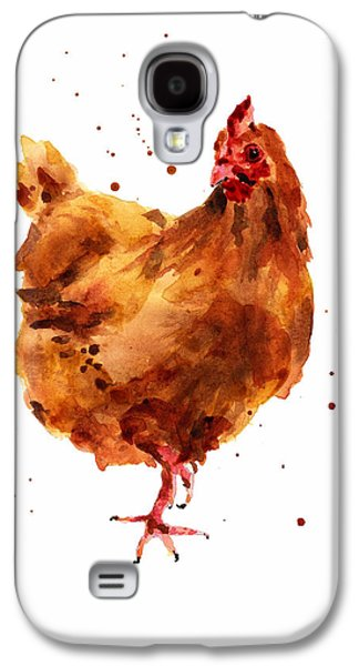 Cheeky Chicken Galaxy S4 Case by Alison Fennell