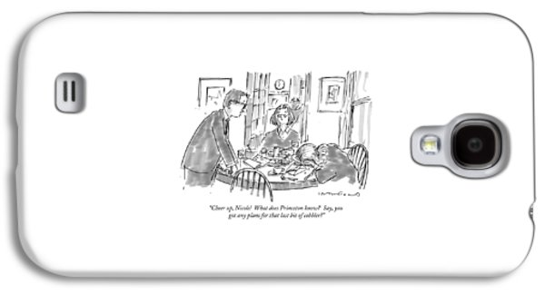 Cheer Up, Nicole!  What Does Princeton Know? Galaxy S4 Case by Michael Crawford