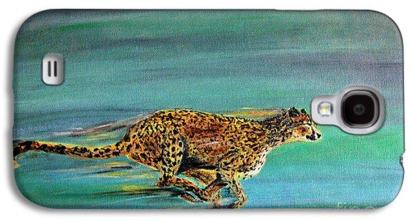 Cheetah Run Galaxy S4 Case