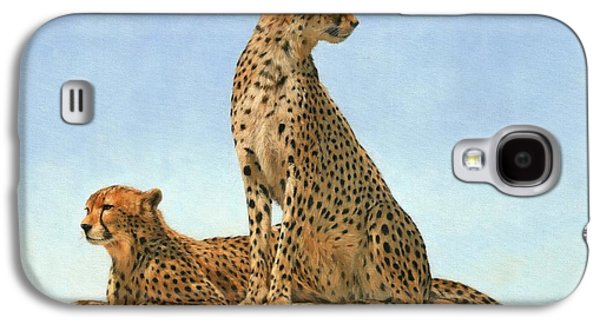 Cheetahs Galaxy S4 Case by David Stribbling