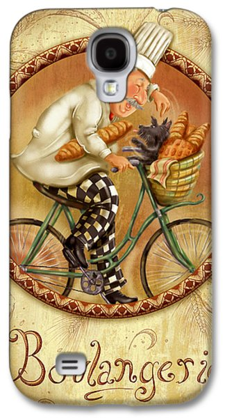 Chefs On Bikes-boulangerie Galaxy S4 Case