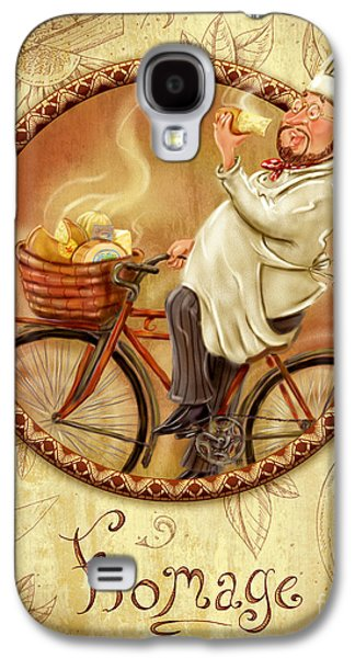 Chefs On Bikes-fromage Galaxy S4 Case