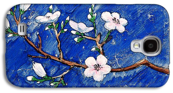 Cherry Blossoms Galaxy S4 Case by Irina Sztukowski