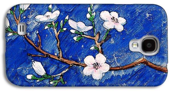 Cherry Blossoms Galaxy S4 Case by Irina Sztukowski
