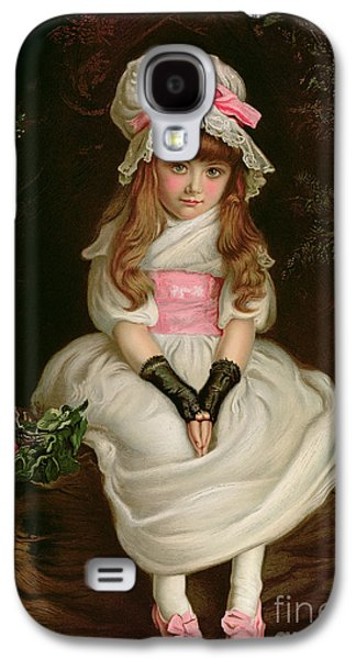 Cherry Ripe Galaxy S4 Case by Sir John Everett Millais