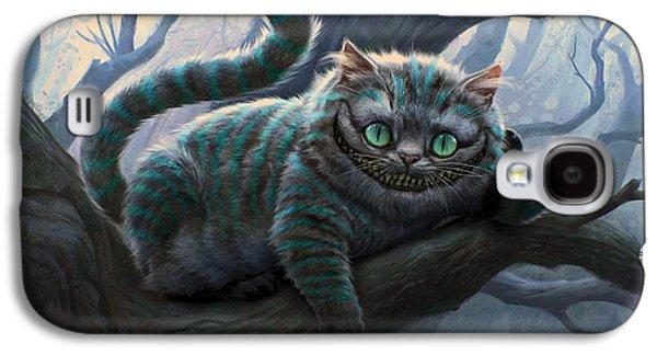 Cheshire Cat Galaxy S4 Case