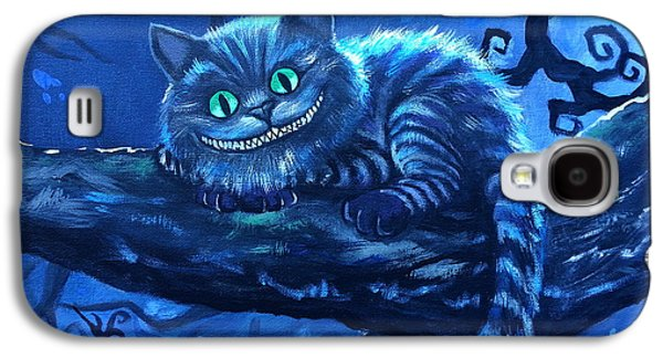 Cheshire Cat Galaxy S4 Case by Tom Carlton